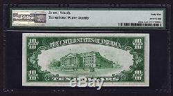 1929 $ 10 Lecture Pa Devise Nationale Pmg 45 Epq Ten Dollar Note Ch # 4887