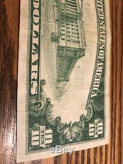 1929 10 Monnaie Nationale D'abord Banque Nationale D'iron River Michigan 8545