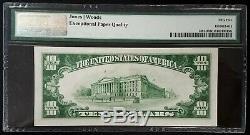 1929 $ 10 Nat'l Monnaie, La Deuxième Banque Nationale De Warren, Oh! Pmg Au 55 Epq