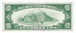 1929 10 $ Pandora Oh Banque Nationale Monnaie Ch Remarque Le Projet De Loi 11343 Unc Type 1 Ohio T1
