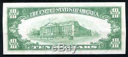 1929 10 $ Première Banque Nationale À Pittsburgh, Pa Monnaie Nationale Ch. # 252