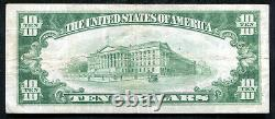 1929 $10 Tyii First National Bank In Oshkosh, Wi National Currency Ch. #6604
