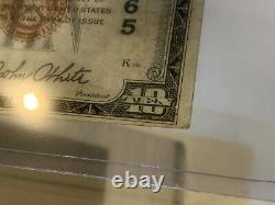 1929 $10 Union National Bank & Trust Huntingdon Pa Monnaie Nationale 4965