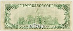 1929 $ 100 Bill Devise Nationale Federal Reserve Bank Of New York