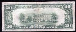 1929 20 $ Banque Nationale D'état De Brownsville, Tx Monnaie Nationale Ch. # 12236