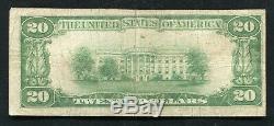 1929 20 $ La Banque Nationale Dauphin Duphin, Pa Monnaie Nationale Ch. # 11512