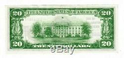 1929 $ 20 Monnaie Nationale La Banque Nationale D'état De Houston Au Texas Banknote