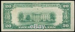 1929 20 $ Monnaie Nationale Lincoln Nat. Bank & Trust, Ft. Wayne, In Ch. # 7725 T2