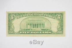 1929 5 $ 1449 Frederick County Banque Nationale Monnaie Nationale Remarque 8980
