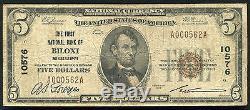 1929 $ 5 La Première Banque Nationale De Biloxi, Mme National Currency Ch. # 10576