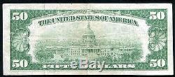 1929 50 $ La Banque Nationale De Brockville, Pa Monnaie Nationale Ch. # 3051