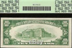 1929 Billet De 10 Dollars - Sceau Brun - Rés. Fédéral - Billet De Banque - Devises Nationales 55