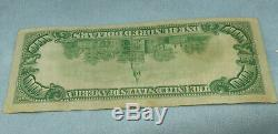 1929 Billet De 100 $ Sceau Monnaie Nationale Brown Réserve Fédérale De Cleveland