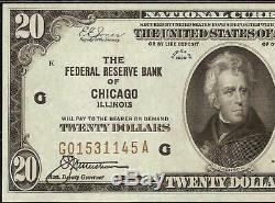 1929 Billet De 20 Dollars - Sceau Brun - Billets De Banque Monnaie Nationale Pmg 64 Epq