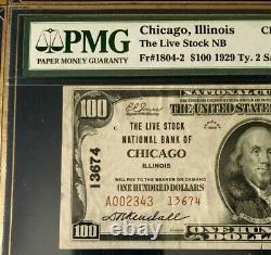 1929 Billet De Banque Nationale Ty2, The Livestock National Bank Ofchicago