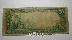 20 $ 1902 Duncannon Billet De Monnaie National De La Pennsylvanie, Pa # 4142