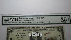 20 $ 1929 Billets De Banque En Monnaie Nationale Tucson Arizona Az - Bill Ch.