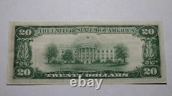 $20 1929 Dunkerque New York Ny National Currency Bank Note Bill Ch. #2916 Au++
