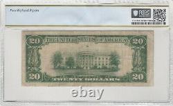 $20 1929 Logan Utah National Currency Bank Note Bill Charter #4670 Rare! Pcgs (pcgs)