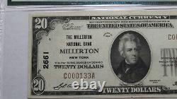 $20 1929 Millerton New York Ny National Currency Bank Note Bill Ch. #2661 Xf40
