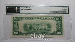 20 $ 1929 Minot Dakota Du Nord Dakota Du Nord Banque Nationale Monnaie Note Bill Ch # 6429 Vf25