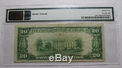 20 $ 1929 Paysage Colline Pennsylvanie Pa Banque Nationale Monnaie Notez Le Projet De Loi # 7262 Pmg