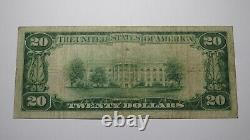 20 1929 Philadelphie Pennsylvanie Ap National Monnaie Banque Note Bill Ch. #539