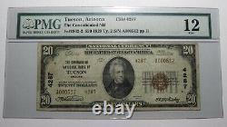 $20 1929 Tucson Arizona Az National Currency Bank Note Bill Ch. #4287 Pmg