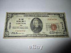 209 $ 1929 Lorimor Iowa Ia Note De La Banque Nationale Bill No 12248 Vf Rare