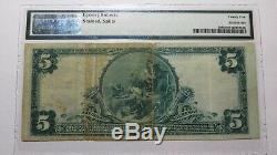 5 $ 1902 Billet De Banque En Monnaie Nationale Vineland New Jersey Nj - Bill Ch. # 2918 Vf25