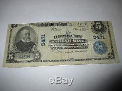 $ 5 1902 Boise City Idaho ID Billet De Banque De La Monnaie Nationale Bill. Ch. # 3471 Rare