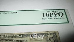 5 $ 1929 Billet De Banque En Monnaie Nationale Clinton Iowa Ia Ia Bill Ch. # 2469 Classé Pcgs