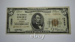 $5 1929 St. Louis Missouri Mo National Currency Bank Note Bill! Ch. #12389 Rare