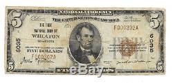 5 $. 1929 Wheaton Billet De La Devise Nationale Du Minnesota Bill Ch. # 6035