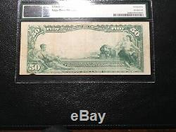 50.00 Banque Nationale Monnaie Los Angeles Fnt & S Pmg Vf 25 Grand Rare