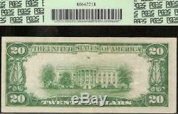Billet De 20 Dollars Des États-unis, 1929, Cachet Brun