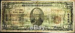 Billet De 20 $ En Monnaie Nationale, Banque Nationale De L'atlantique De Jacksonville, En Floride