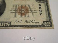 Billet De Banque De 10 Usd De 1929 Brighton Illinois