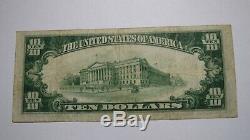 Billet De Banque National En Monnaie Nationale Du New Jersey, New Jersey, Nj 1929
