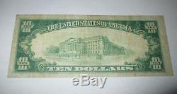 Billet De Banque National En Monnaie Nationale Fitchburg Massachusetts Ma 1929