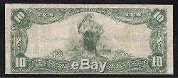 Butler, New Jersey Nj 10 $ 1902 1er Banque Nationale Morris Monnaie Nationale Scarce