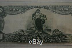 États-unis 1902 Murchison Banque Nationale De Wilmington 10 $ Monnaie Nationale 5182