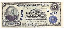 Fr. 601 1902 Pb 5 $ Charte # 4178 Billets De Banque Nationale Billets De Banque En Dollars Américains