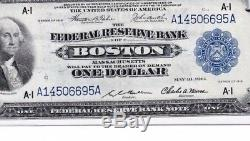 Fr. # 708 1918 1 $ Réserve De La Réserve Fédérale De L'aigle Vert, Monnaie Nationale