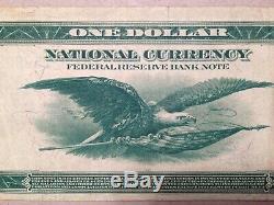 Fr 712 Banque De La Réserve Fédérale De New York National Currency Series 1918