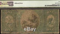 Grand Billet De 1875 $ Us Palmer De La Banque Nationale À 1875 $ Grande Monnaie Ancienne