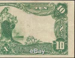 Large 1902 $ 10 Dollar Dollar De Fall River Billets De Banque Lizzie Borden Pmg