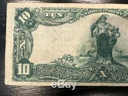 Monnaie De 1902 $ 10 Dollars Américains Billet De Banque En Papier De La Banque Nationale De Nashville