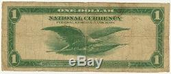 Monnaie Nationale 1 $, Federal Reserve Bank Of New York, Série 1918