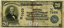 Monnaie Nationale 20 $ La First National Bank De Montour Iowa, Vg